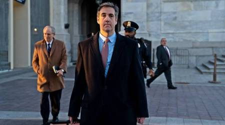 Michael Cohen, Donald Trump, Michael Cohen hearing, Michael Cohen documents, Donald Trump Russia, Russa Donald Trump deal, Trump tower, Indian express, latest news