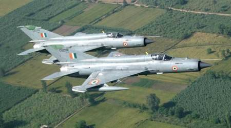 What is mig 21 IAF fighter jet pilot