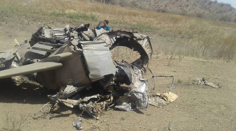 MiG 27 aircraft of Indian Air Force (IAF) on routine mission crashes near Rajasthan's Jodhpur