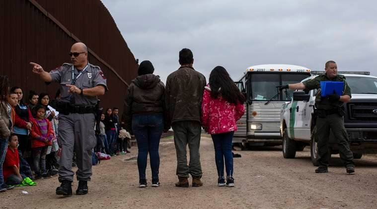 US-Mexico border at 'breaking point' as more than 76,000 migrants cross in February