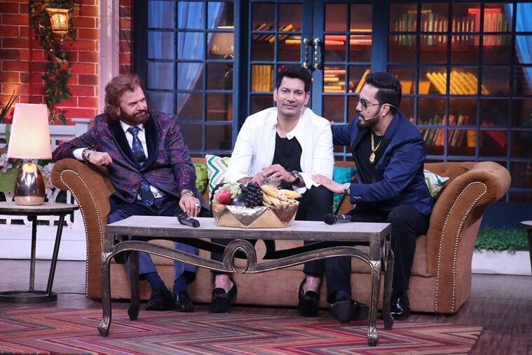 mika singh with jassi and hans raj hans