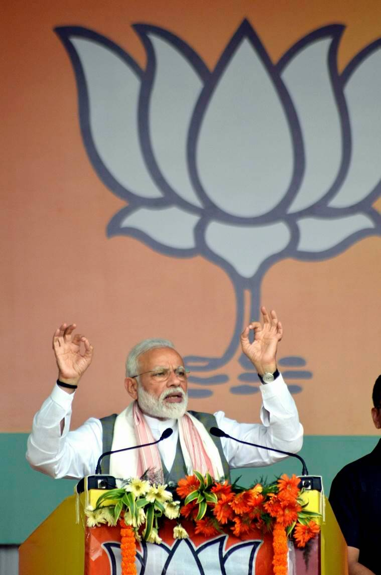 Lok Sabha elections 2019, Lok Sabha election, Narendra Modi, Rahul Gandhi, BJP, Congress, environment, water pollution, BJP on pollution, BJP Manifesto, Congress manifesto, Ministry of Environment Forest, India news, Indian Express