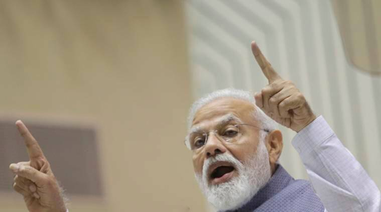 PM Modi's blog on Opposition alliance sparks war of words
