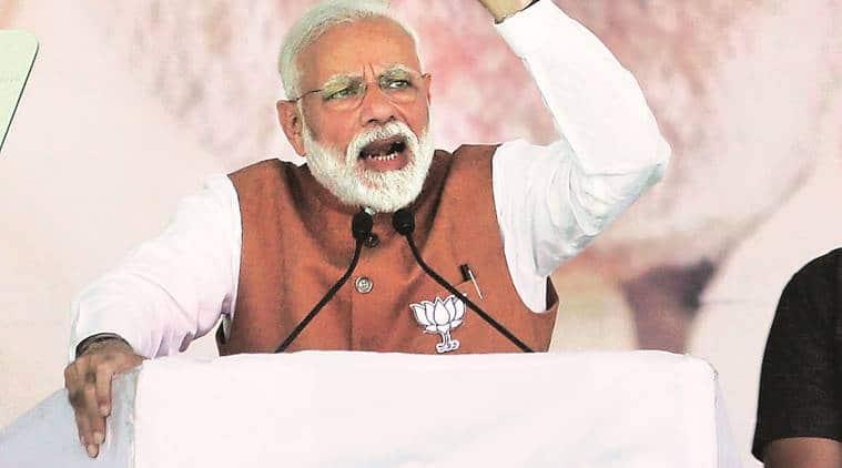 Narendra Modi, Narendra Modi Mission Shakti, Mission Shakti announcement, Modi Mission Shakti announcement, Narendra Modi TV announcement, Modi address to nation, Balakot strikes, Demonetisation modi, modi demonetisation announcement, indian express