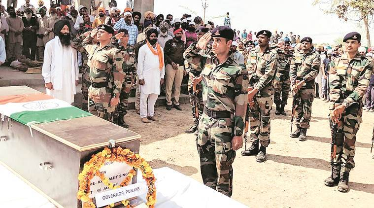 In Moga, a 'son' is laid to rest