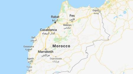 Moroccan police use water cannons to disperse teachers' protest-witness