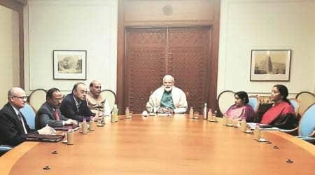 India pakistan tension, Narnedra Modi, Pakistan airstrikes, Balakot sit strike, Pakistan news, Indian Express