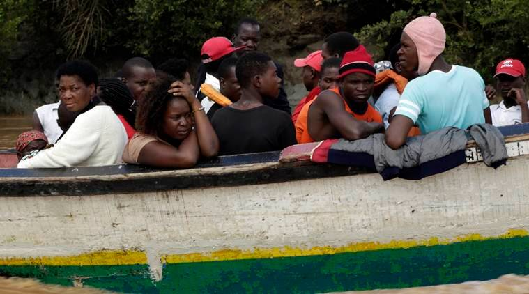 Indian naval crew has rescued more than 192 people in cyclone-hit Mozambique