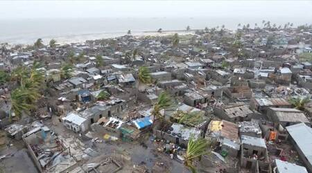 Mozambique cyclone: Rescue teams race to save hundreds trapped in floods