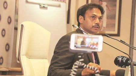 msk prasad, chief selector msk prasad, indian cricket team, team india, world cup 2019, india west indies tour, team india west indies tour, sports news, cricket news, Indian Express