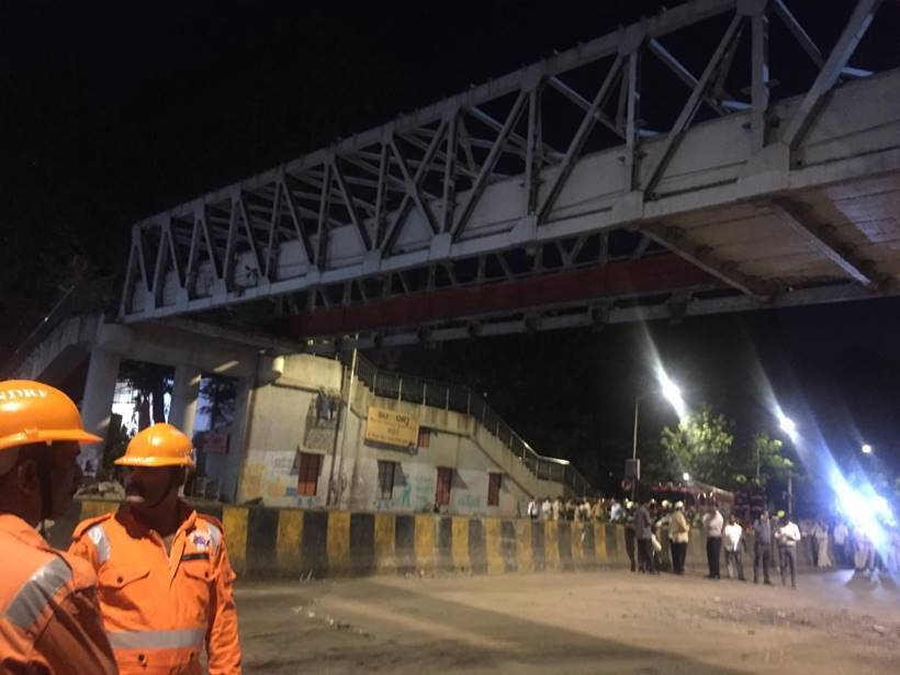 Mumbai CST bridge collapse claims several lives, at least 30 injured