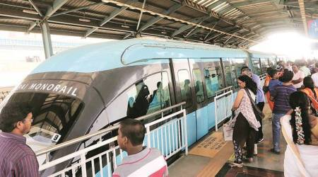 mumbai monorail, mhada, mumbai news, mmrda, indian express