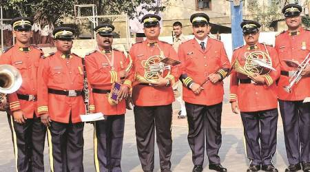 Mumbai Police band: Melody in their march