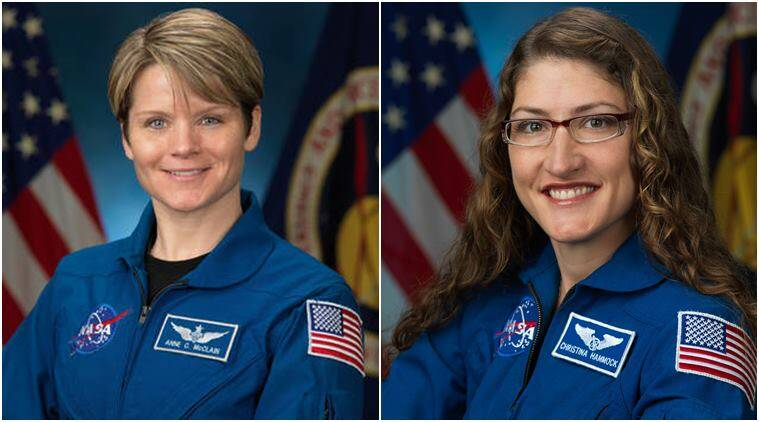 NASA, NASA first woman spacewalk, NASA first all female spacewalk, NASA all female spacewalk, NASA women astronaut, Anne McClain, Christina Koch