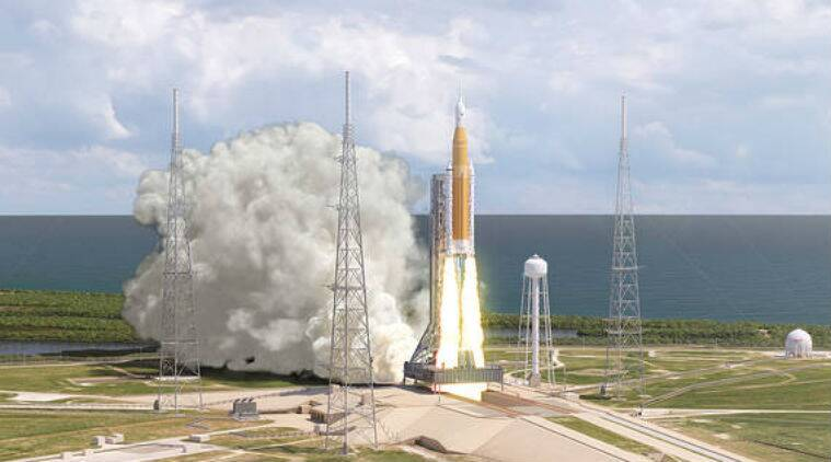 NASA weighs shelving giant booster, using private rocket to moon
