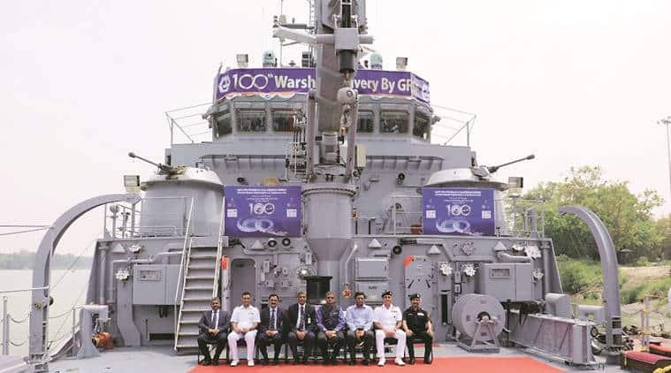 Indian Navy, Indian Navy warship, warship indian navy, navy warships, L56 Warship indian navy, indian express, latest news