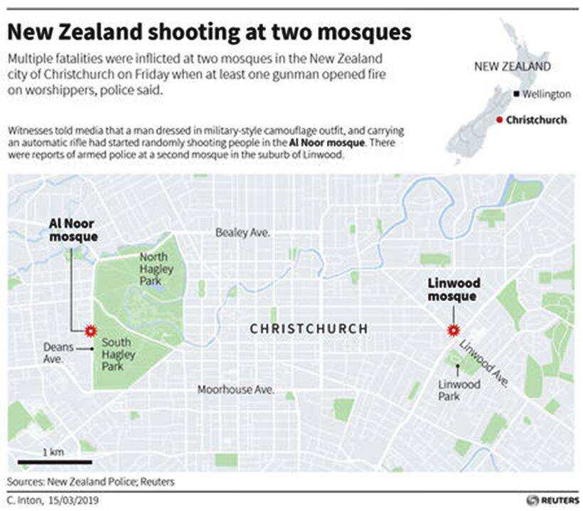Attacker guns down 49 in two New Zealand mosques, carnage livestreamed on social media