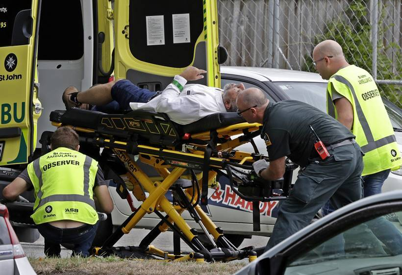 Several feared dead after mass shooting at mosque in New Zealand