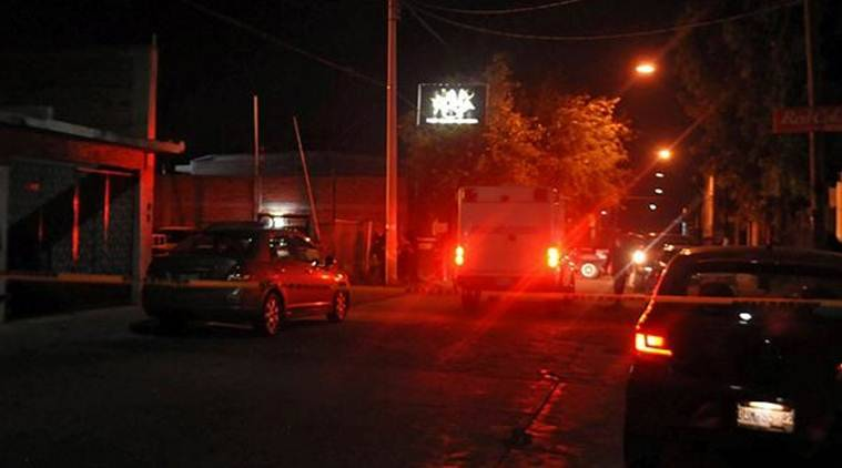 Mexico, Mexico nightclub shooting, shooting in mexico nightclub, mens club, shooting at mens club, La Playa Men's Club, indian express