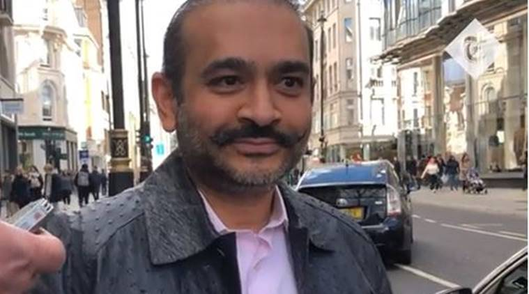 nirav modi, nirav modi arrest, nirav modi fugitive, nirav modi uk, nirav modi london video, nirav modi pnb scam, Nirav modi extradition, Enforcement Directorate, nirav modi loan pnb, nirav modi arrest, latest news, indian express