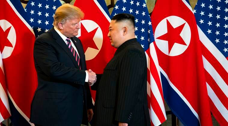 After failed summit with North Korea, US imposes first new sanctions