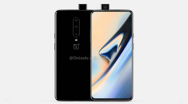 oneplus 7, oneplus 7 camera specs, oneplus 7 triple rear camera, oneplus camera specifications, oneplus 7 popup selfie camera, oneplus 7 leak, oneplus 7 render image, oneplus 7 specifications, oneplus 7 features, oneplus 7 launch date, oneplus 7 launch