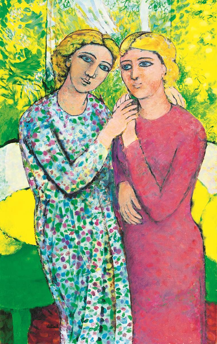 French Painter Maite Delteils Women Protagonists Break Free And Shine In A World Of -7908
