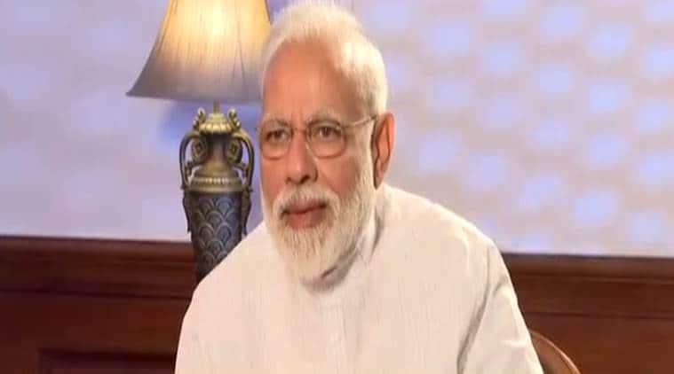 narendra modi, prime minister narendra modi, pm modi, lok sabha elections, bjp, congress, rahul gandhi, nyay, nyay scheme, atal bihari vajpayee, amit shah, hardik patel, shatrughan sinha, indian express news