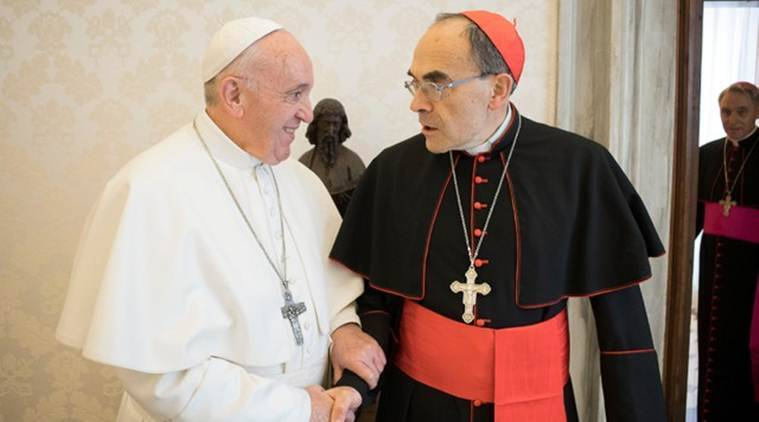 Pope nixes French cardinal resignation after cover-up
