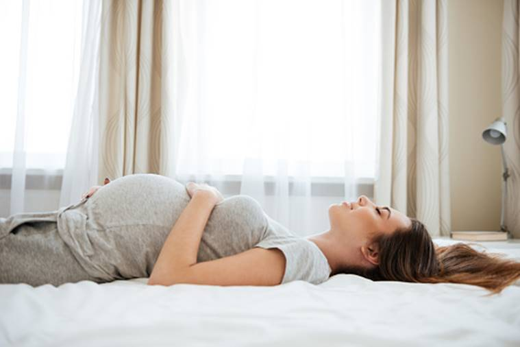 pregnancy sleeping position