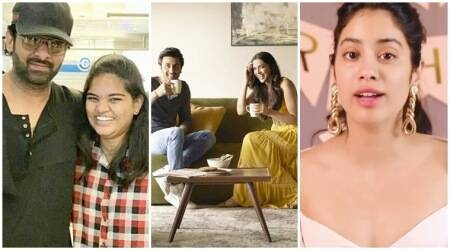 Prabhas, Deepika Padukone Janhvi Kapoor social media videos