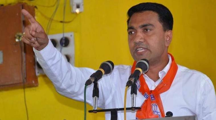 Pramod Sawant, Goa CM, Pakistan, world Press Freedom day, dissent, Journalism, Indian Express