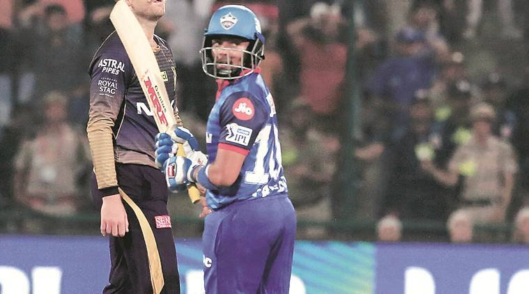 IPL 2019 dc vs kkr-: After the tie, the noose