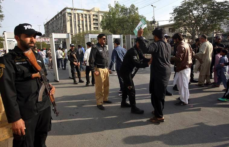 Hundreds of cricket fans proudly displayed their tickets in Karachi as they walked to the National Stadium on Saturday, hours before Pakistan's biggest city hosts the last leg of the Pakistan Super League over the next nine days.
