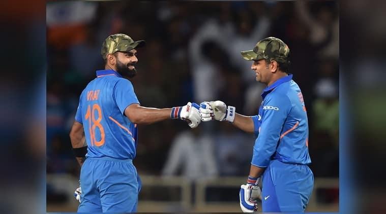 Virat Kohli, MS Dhoni, cricket, India