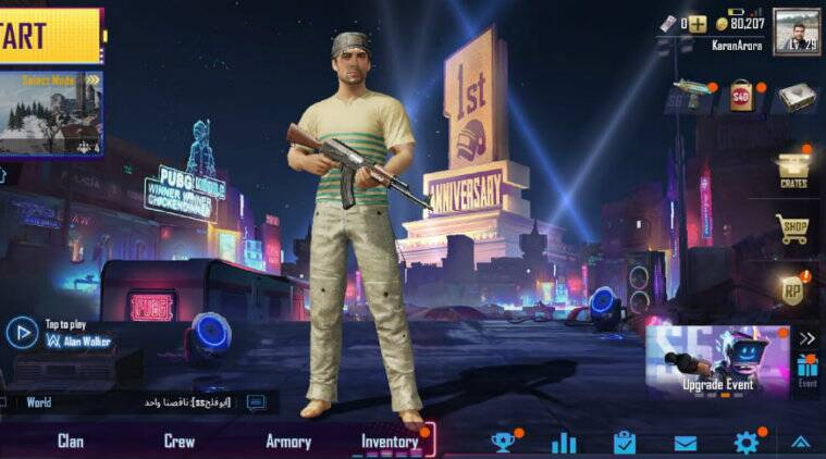PUBG Mobile celebrates first anniversary with multiple in-game goodies and enhancements