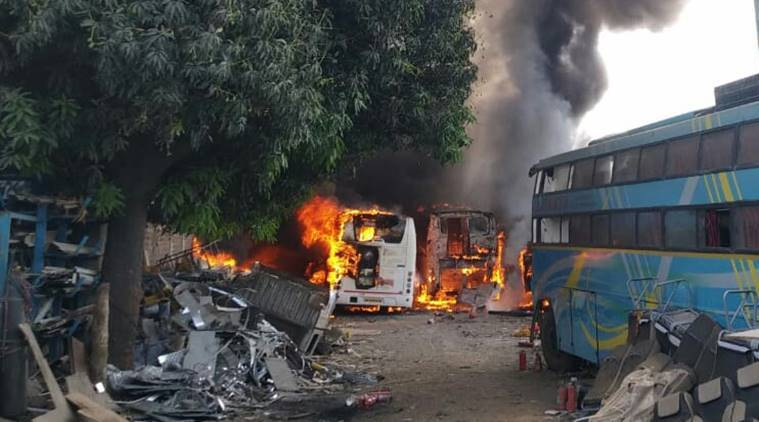 Pune: Six Buses Gutted In Fire At Satara Road, No Casualties Reported
