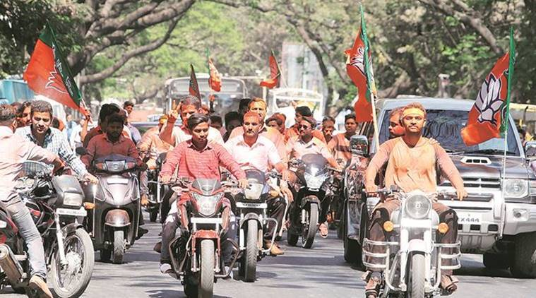 pune lok sabha seat, election rally in pune, pune bjp, pune congress, pune bjp chief yogesh gogawale, shiv sena, pune candidate, lok sabha elections 2019, election news, indian express