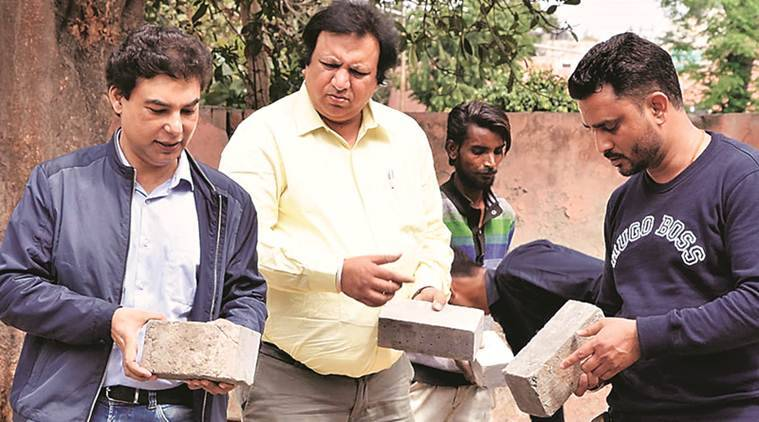 In Punjab, debris gives life to civic projects