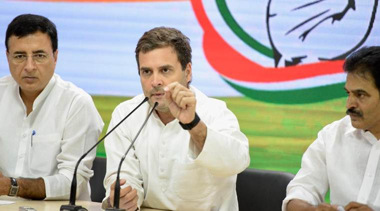 rahul gandhi, rahul gandhi election 2019, rahul gandhi congress, congress, congress lok sabha election 2019, congress election promises, congress election promises 2019, rahul gandhi election promises, rahul gandhi promises minimum income for the poor, rahul gandhi promises for 2019, Congress chief Rahul Gandhi congress promises, congress promises 2019, congress promises minimum income, congress election promises