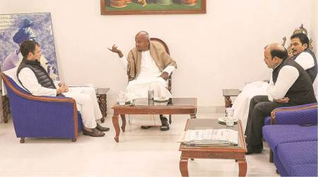 Deve Gowda yet to decide which seat to contest