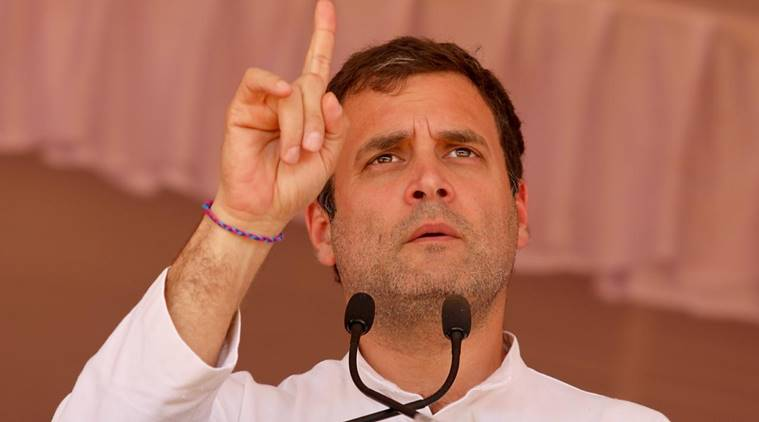 Rahul Gandhi's 'Masood Azhar ji' remark creates controversy; BJP, Congress in war of words