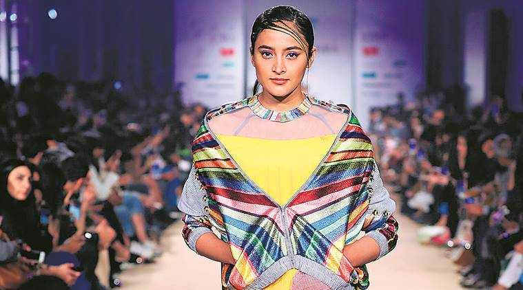 Day One of the Lotus Make-up India Fashion Week celebrated jackets and Rahul Mishra's decade in design