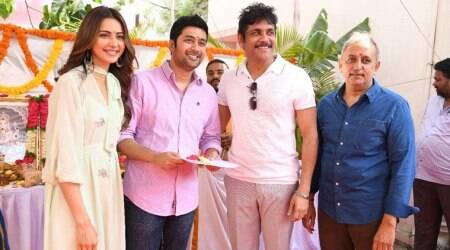 Rakul Preet Singh and Nagarjuna in Manmadhudu sequel