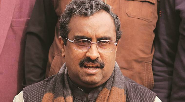 kASHMIRI PANDITS, rehabilittation policy, ram madhav, ram madhav on kashmiri pandits, jammu and kashmir news, indian express