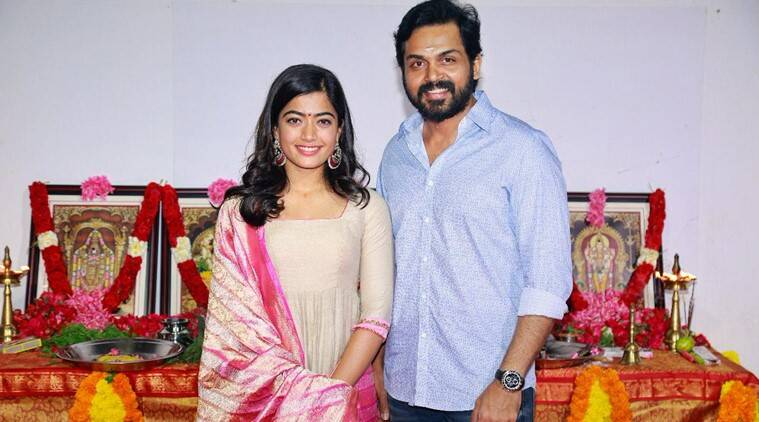 Rashmika Mandanna to make her Tamil debut with Karthi next