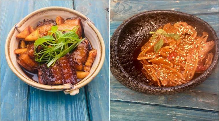 recipe. weekend, fish, lotus stem