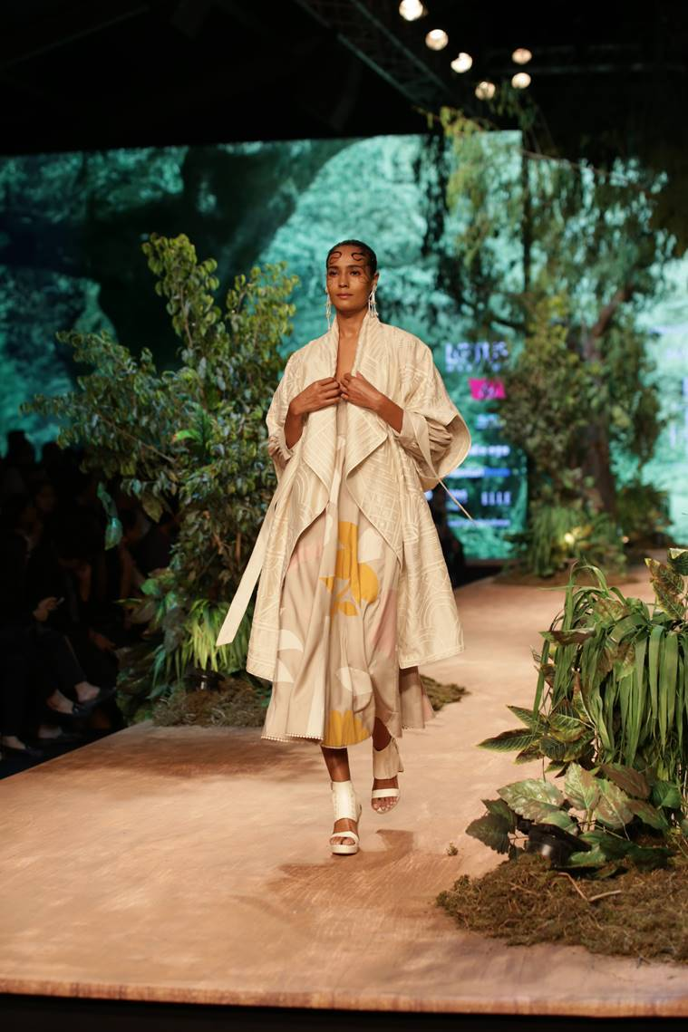 lotus india atumn fashion week 2019, lotus india atumn fashion week 2019, sahil kocchar, indian express, indian express news