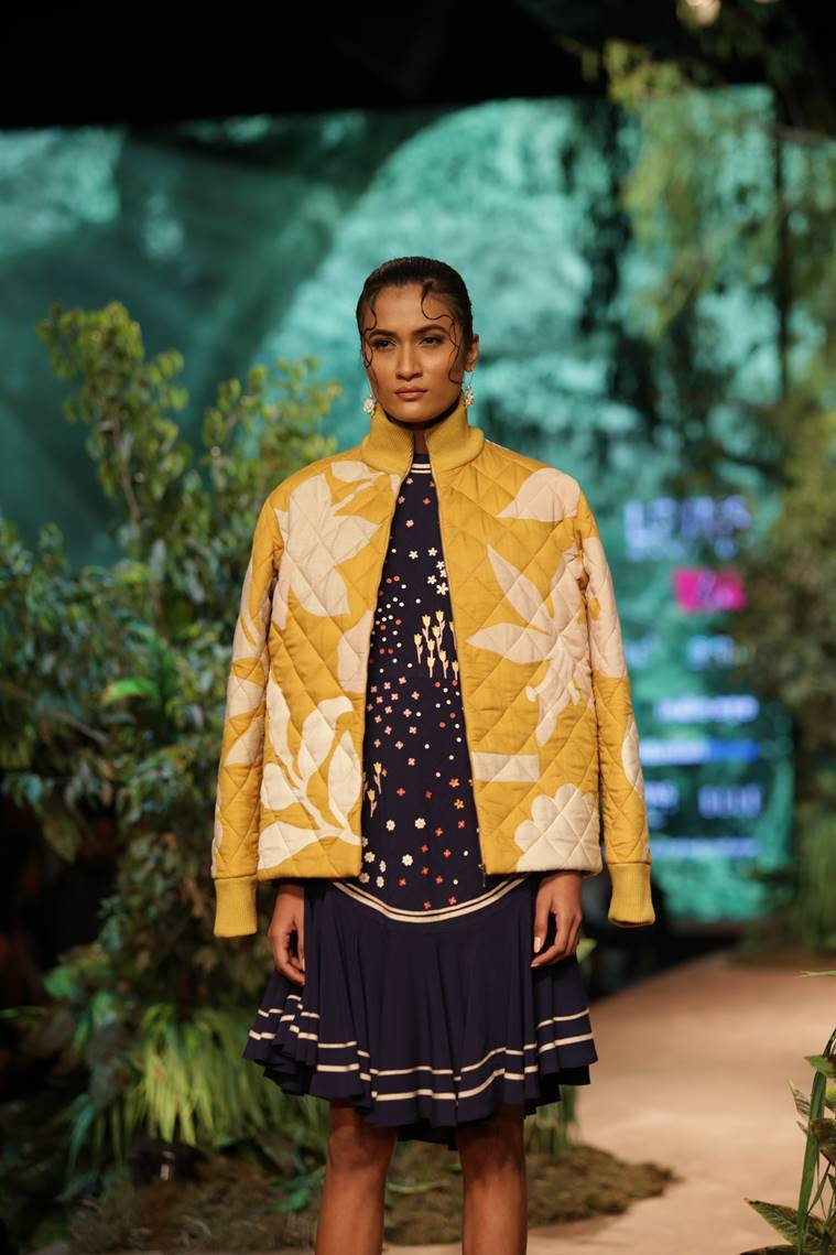 lotus india atumn fashion week 2019, lotus india atumn fashion week 2019, sahil kocchhar, indian express, indian express news