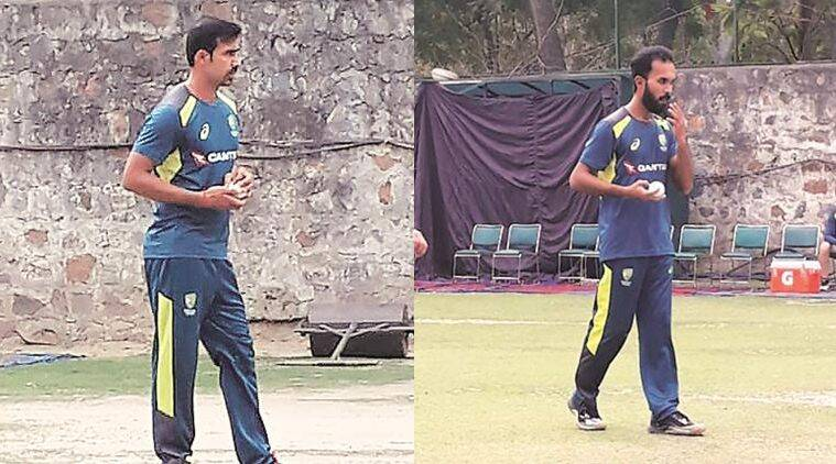 From Bhiwani and Kozhikode, some help at the nets for Team Australia against subcontinent spin